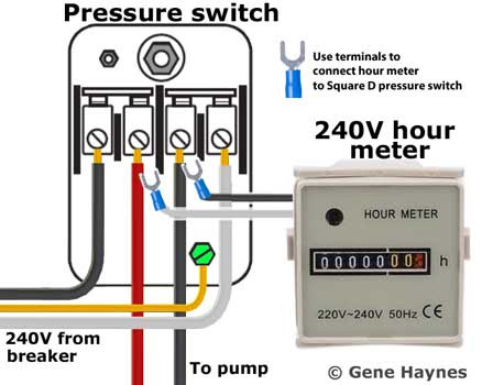 Square D Pressure Switch Wiring Diagram - Complete Wiring ...