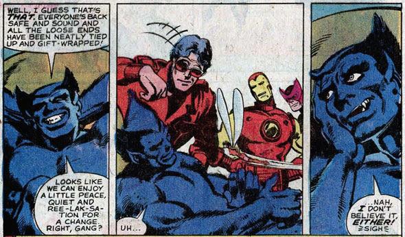 Avengers #190