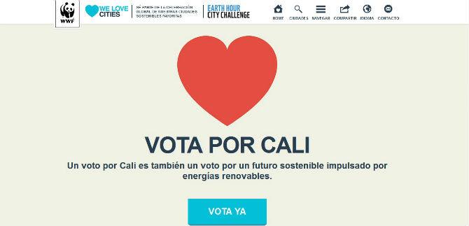 We Loves Cities cierra votación este sábado; vote por Cali