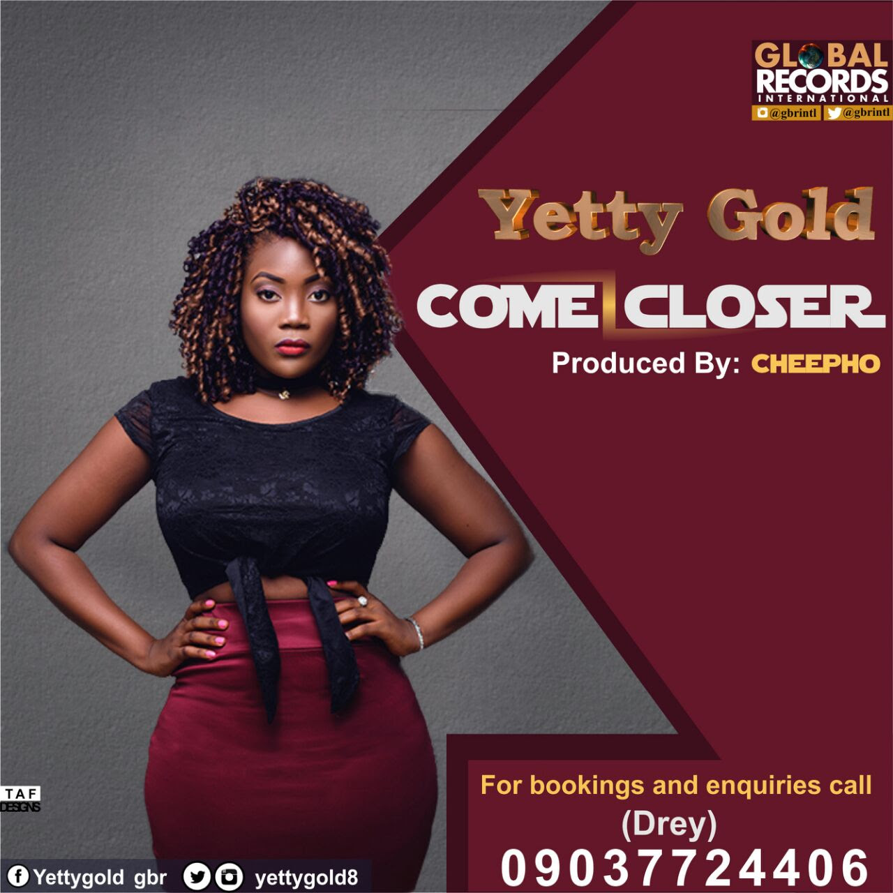 Yetty Gold - Come Closer (prod. Cheepho)