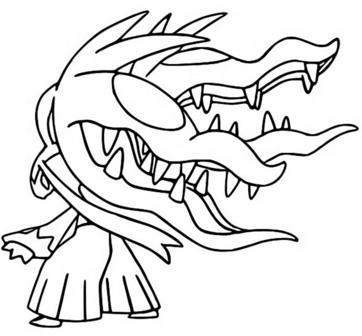 pokemon ausmalbilder mega glurak y  coloring and drawing