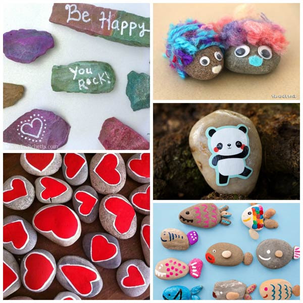 Rock crafts for kids