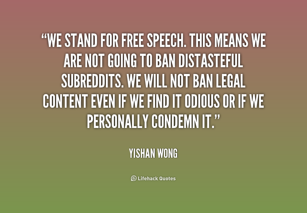 Quotes About Freedom Of Speech 210 Quotes