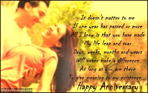 First Anniversary Poems for Husband: Happy 1st Anniversary