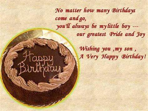Birthday Wishes For A Dear Son. Free For Son & Daughter