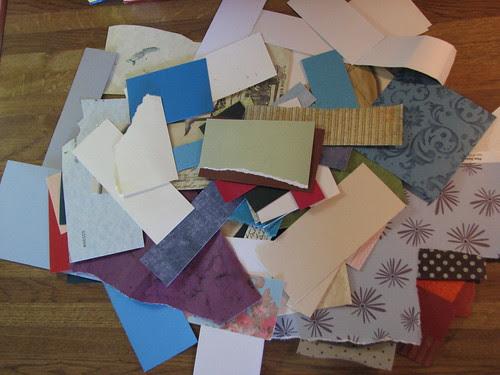 Recycling Paper Scraps 001