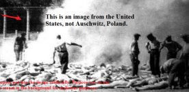 Zionists Fake Holocaust Cremation Deaths Using 35 Year-Old Train Wreck Images