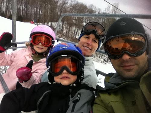 Family Snowboarding