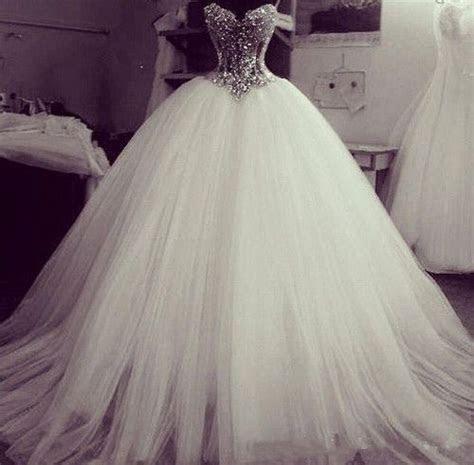 bling bling beaded wedding dress sweetheart bridal ball