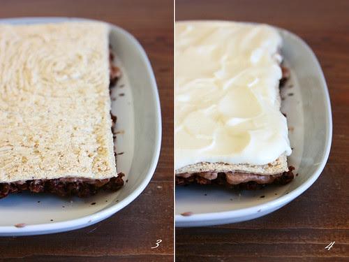 Torta bavarese - passi 3 e 4