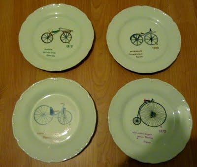 assiettes cyclisme