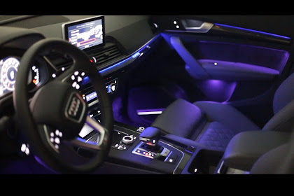 2018 Audi Q5 Interior Ambient Lighting