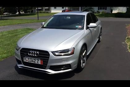 2014 Audi A4 Black Optic Package
