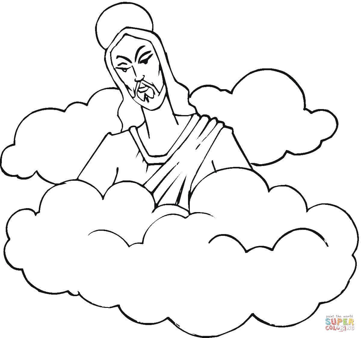 Dibujos De Resurrección De Jesús Para Colorear Páginas Para