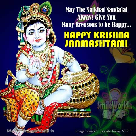 Happy Janmashtami Wishes Images In English For Facebook Whatsapp