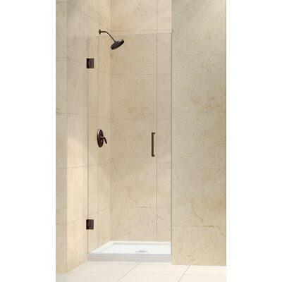 Dreamline Unidoor Frameless Hinged Shower Door | Wayfair
