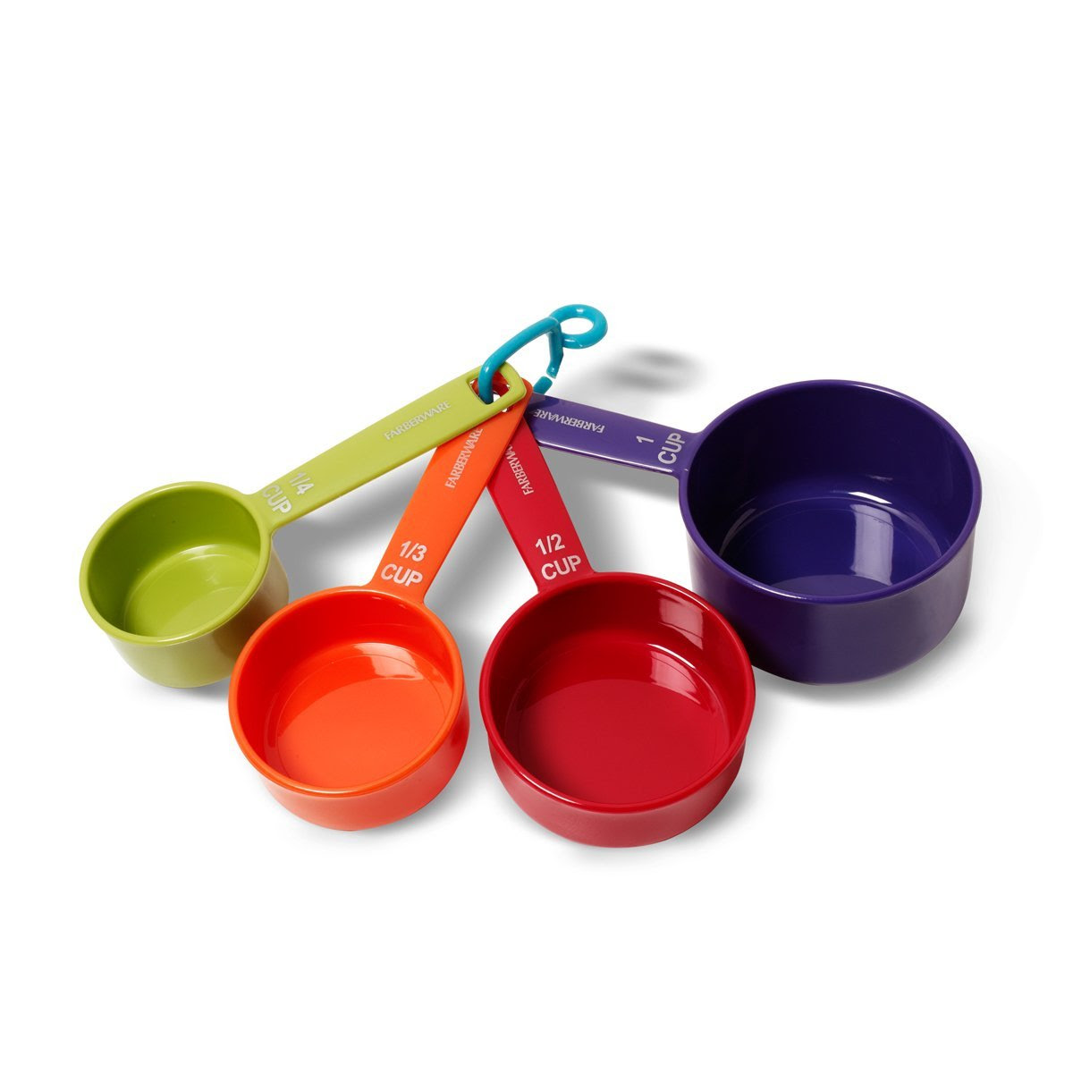colorful nice wonderful amazing nice adorable measuring cup with small and big size concept made of plastic