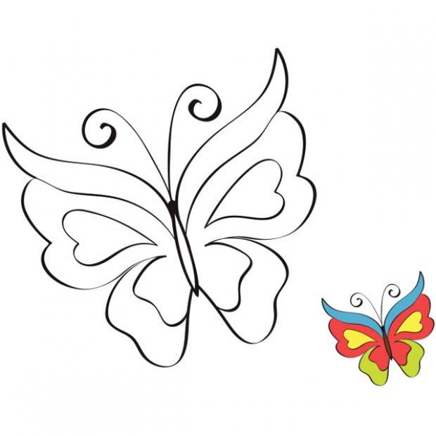 Coloriage à Imprimer Cap Sur Le Coloriage Papillon Familifr
