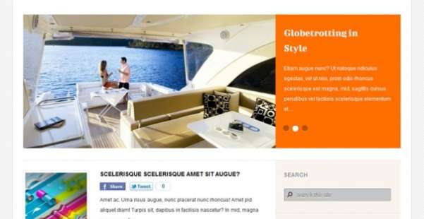 Holmiumous  Blog WordPress Theme