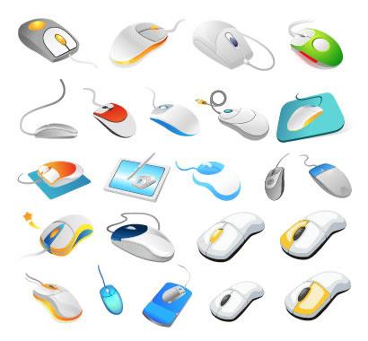 マウスパソコンのイラストaieps ベクタークラブイラストレーター