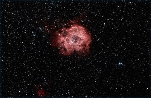 Rosette Nebula in Monoceros NGC2237 by turner_andi