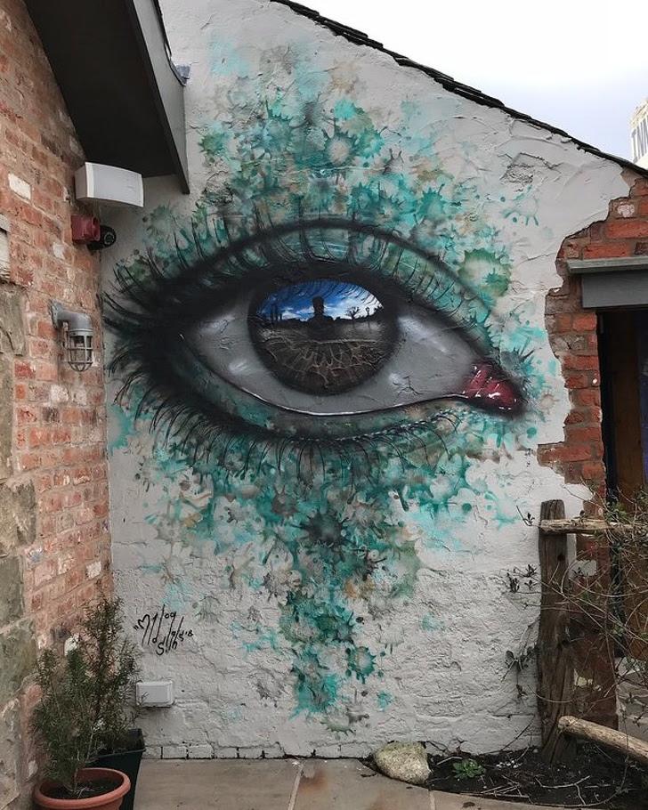 16 - Street Art in Lancashire, UK