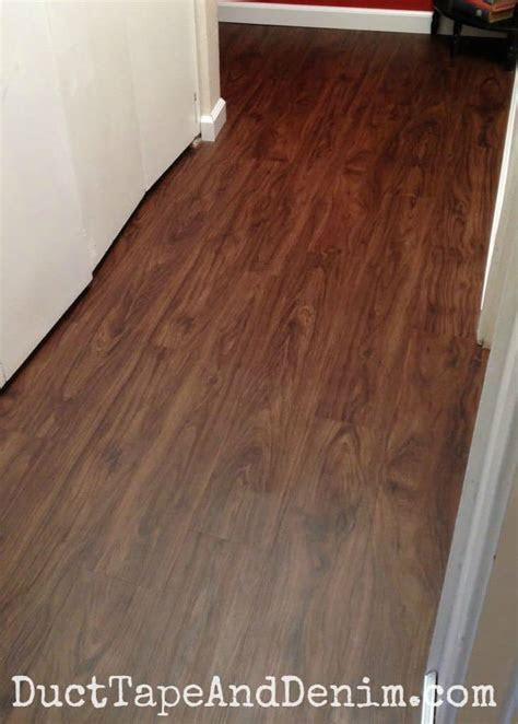 Our Hall Makeover with Vinyl Plank Flooring