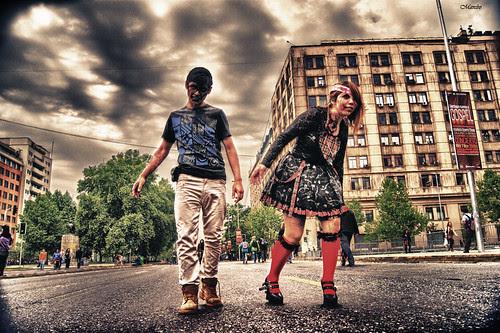 Zombie walk 2012 by Alejandro Bonilla