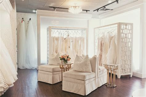 What to expect when you try on wedding gowns at a bridal