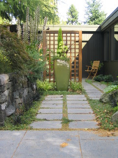 do it yourself or hire a landscaper? | mid-century modern remodel