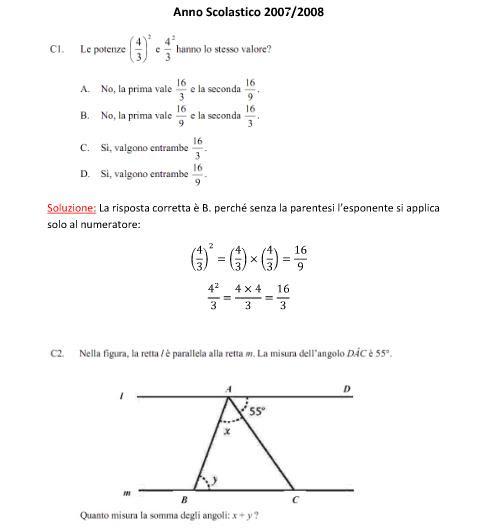 Esercitazione prova esame for App per risolvere i problemi di geometria