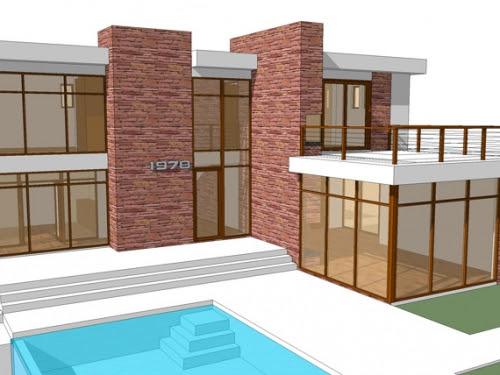 Modern House Plans, Ultra-Modern House Plans, Cool Green Modern ...