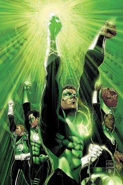 fanfic - Lanterna Verde - Amanhecer esmeralda