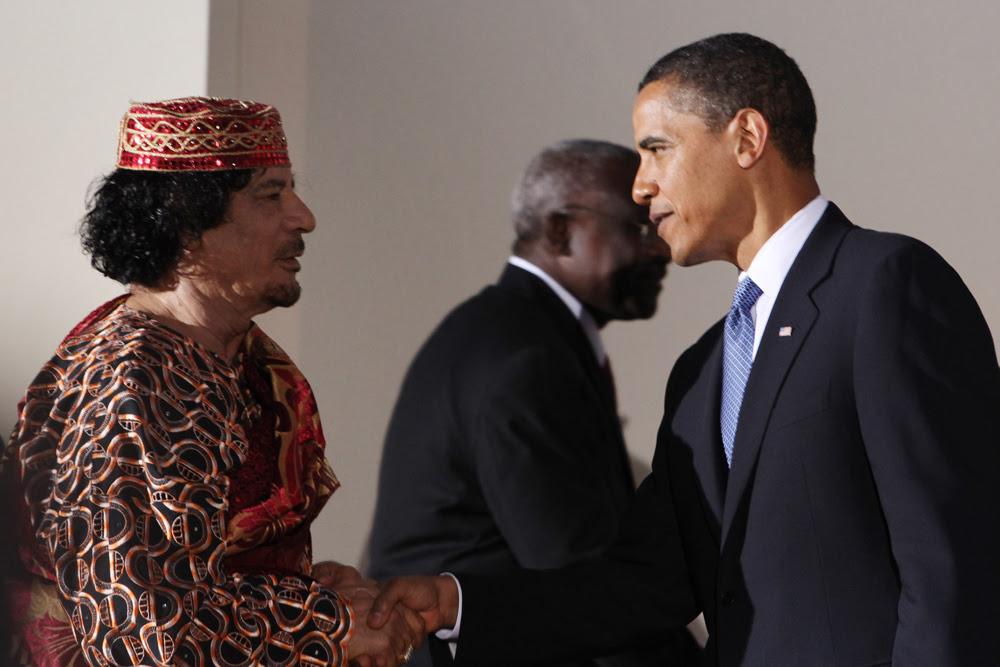 Image result for gaddafi's libya western dress