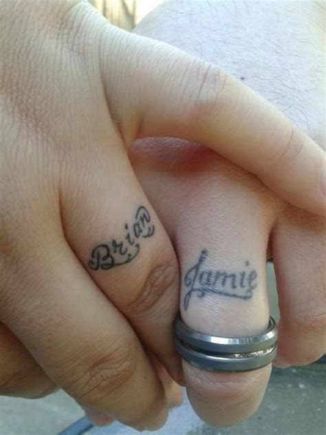 Wedding Finger Tattoos Designs, Ideas and Meaning