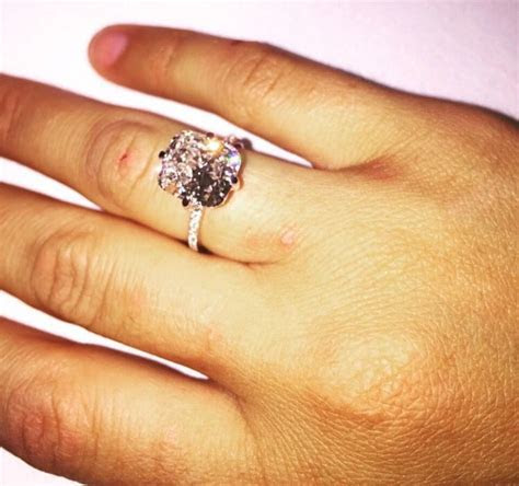Smaller version of Kim Kardashian West's ring   Marriage