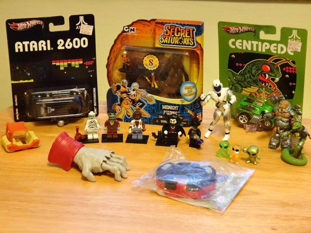 LEGO Hot Wheels Atari Battle Beasts Secret Saturdays