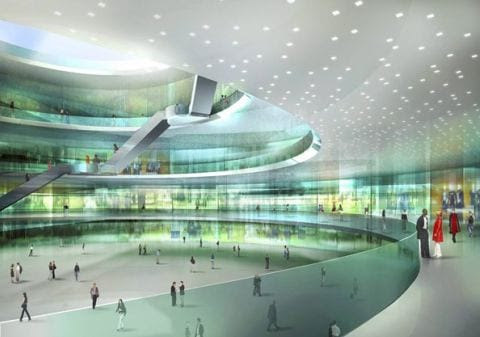 gwanggyo project competition won mvrdv architects6 Gwanggyo Power Centre, la ciudad ecológica