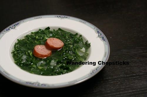 Caldo Verde (Portuguese Green Soup) 2