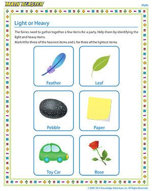 light or heavy