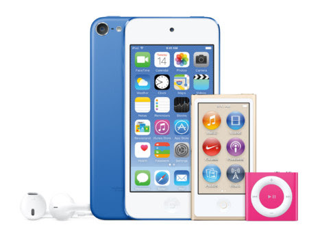apple, ipod, ipod touch, iphone 6, ipod shuffle, actualización