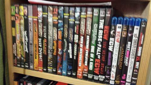 Wrestling DVDs