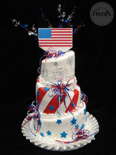 39 best images about July 4th Cakes on Pinterest   White