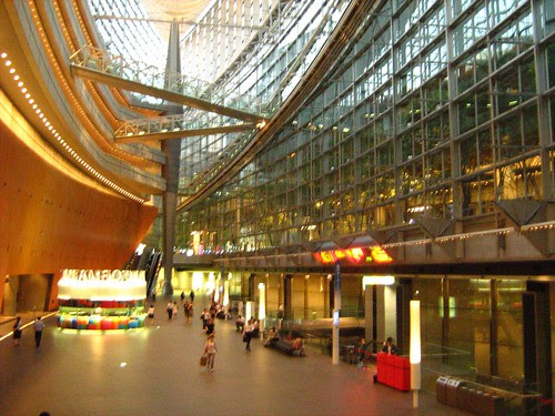 Interior of Tokyo International Forum 3