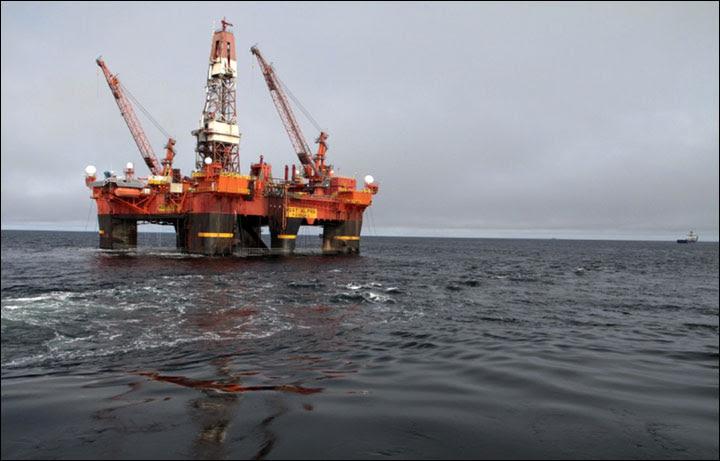 Oil drilling in Kara Sea