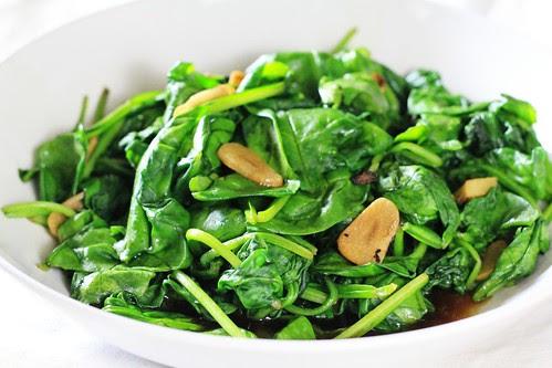 Spinach and Garlic