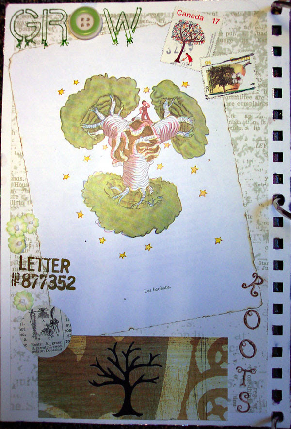 Journal #3 - left page