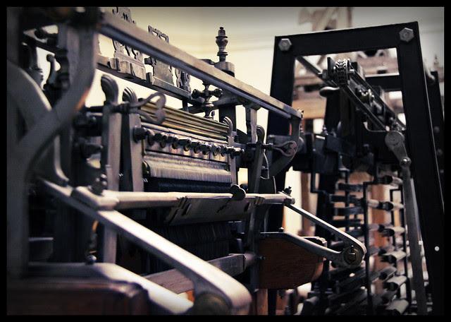 Weaving machines, 19c