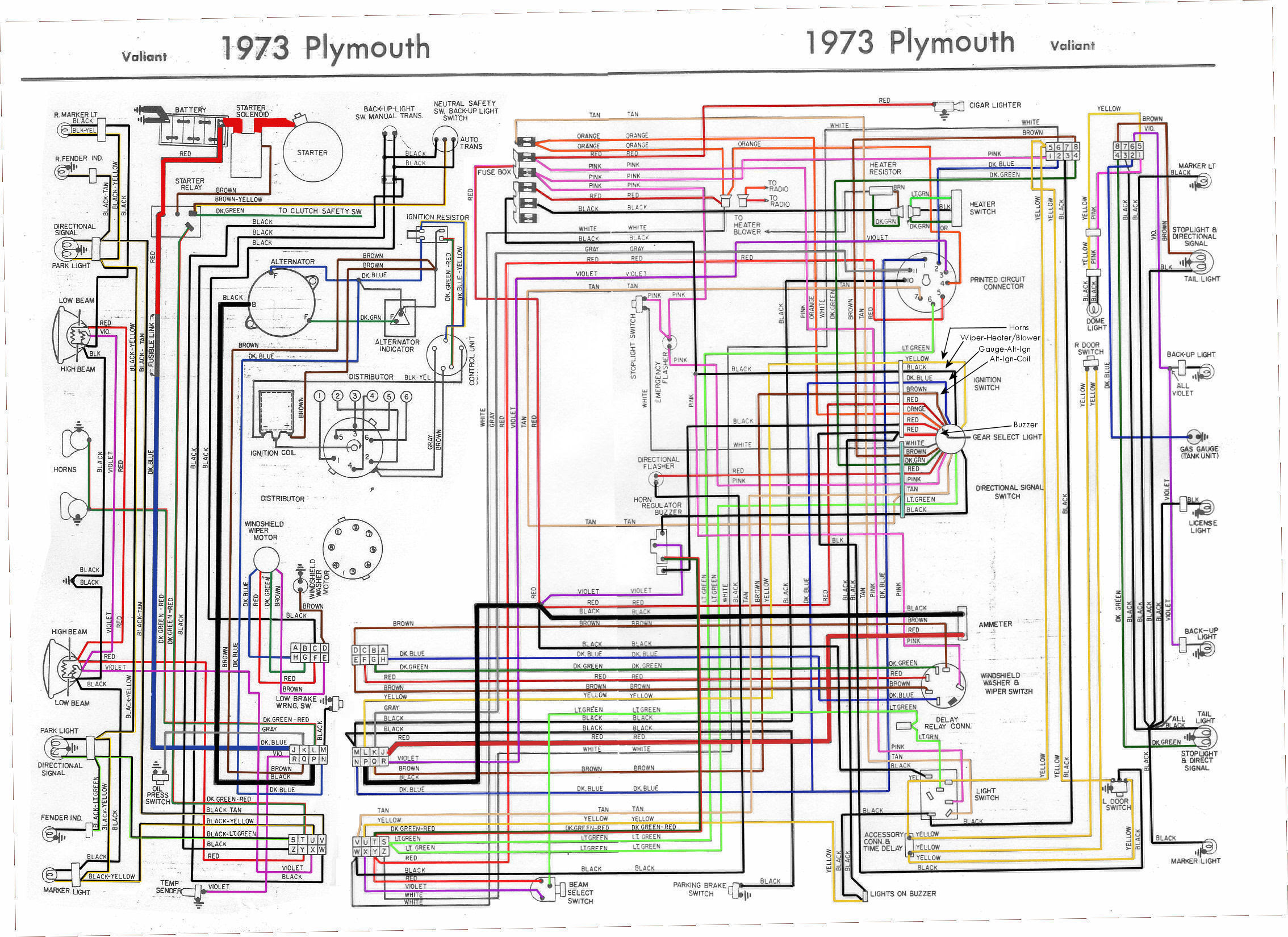 51bba7 1970 Plymouth Road Runner Dash Wiring Diagram Wiring Library
