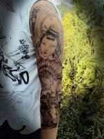 Tatuajes Geishas